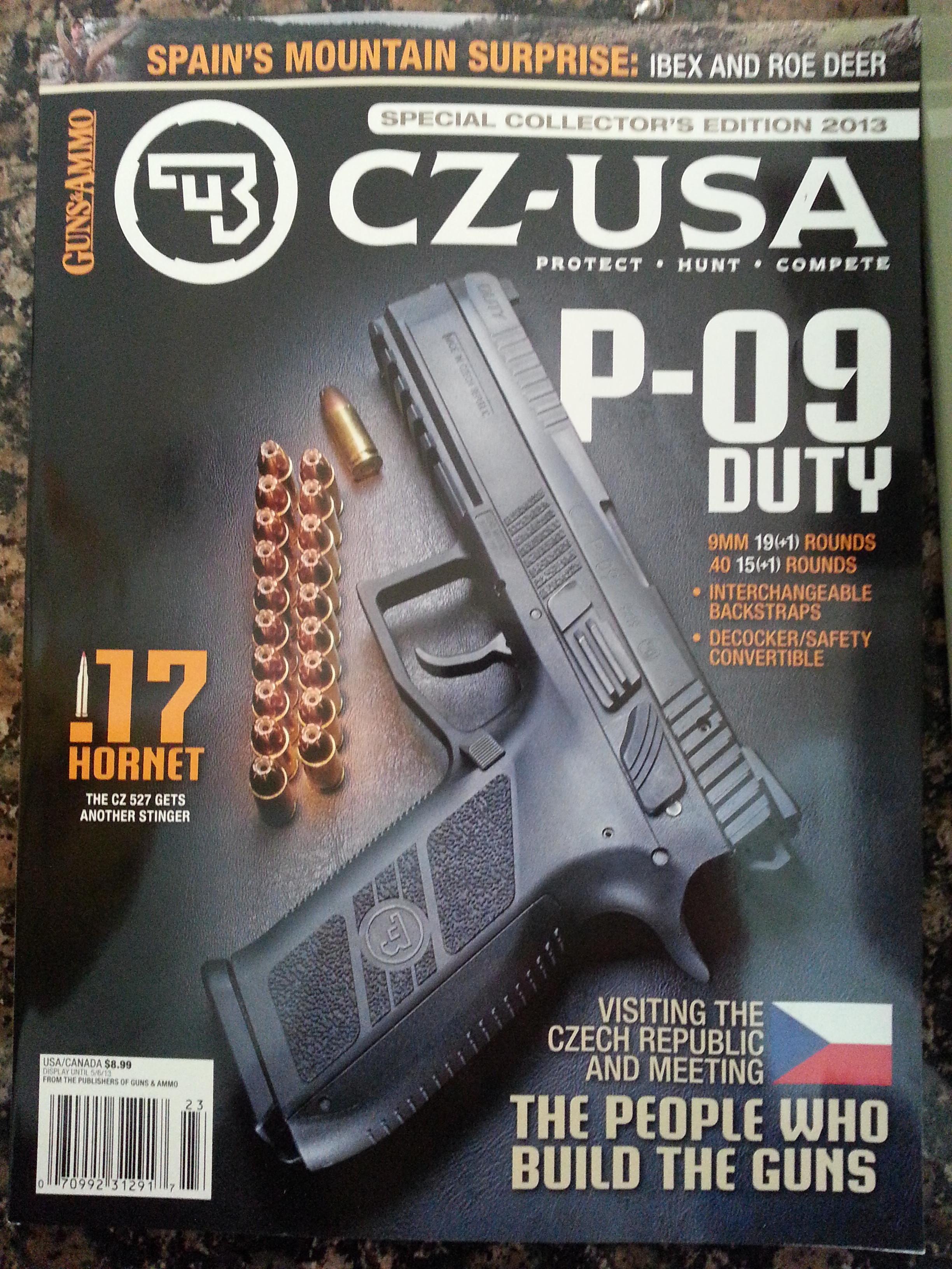 Guns & Ammo CZ USA
